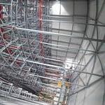 Montáž ocelových konstrukcí - výškové práce - lanový přístup